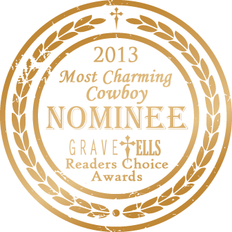 Zach Gamble has been nominated Most Charming Cowboy, in the Readers Choice 2013 awards! If you liked Zach, please vote for him!