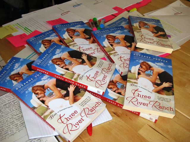 In the midst of revisions on the next book in the series, my copies of the first book arrived!! Whoo-hoo!