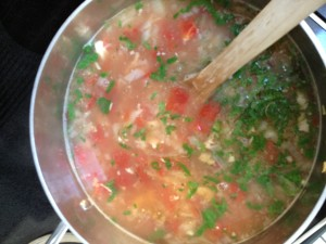 Chicken-Lime Soup