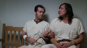 McMurphy: I must be crazy  to be in a loony bin like this.